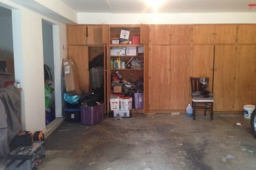 Garage Before and After